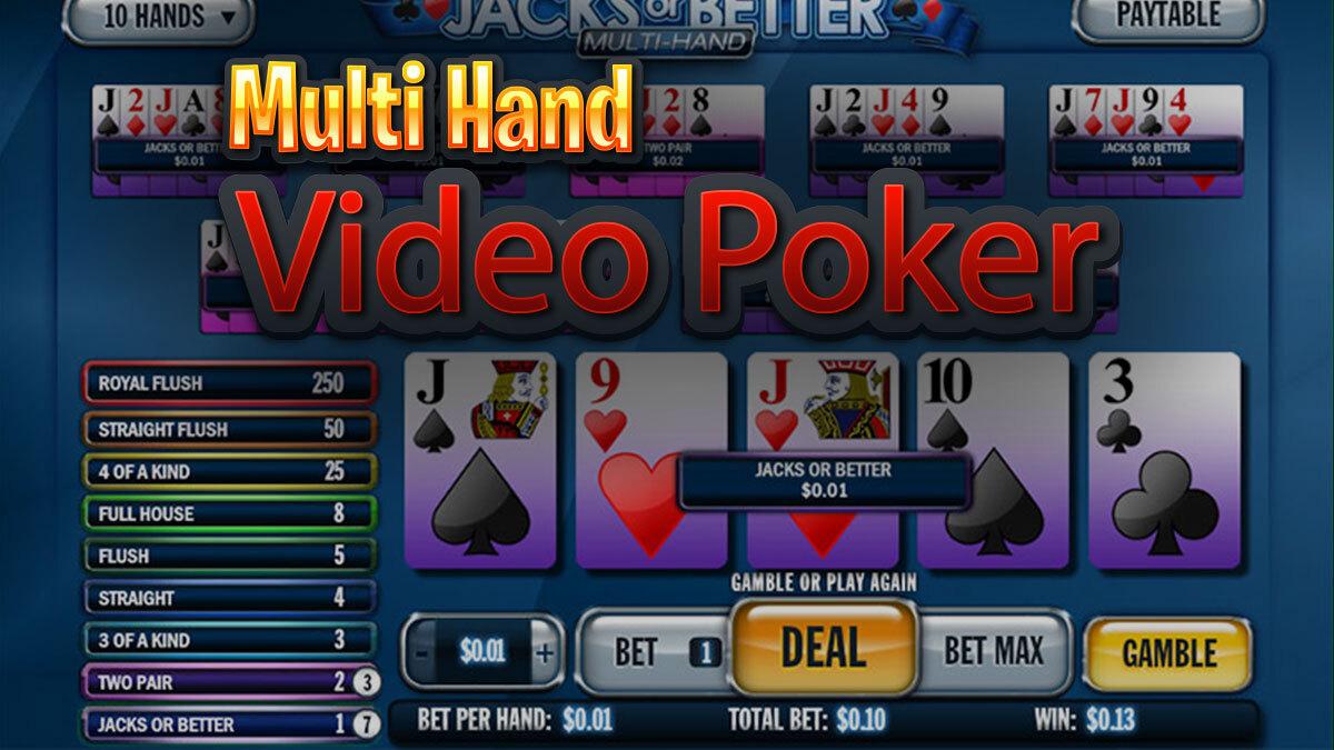 Multi video Poker